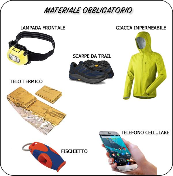 materiale obbligatorio